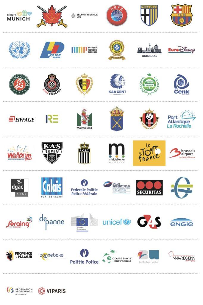 PITAGONE køretøjsbarrierer referencer - kontakt Safety Solutions Denmark for yderligere info   7171 2040   info@safetySD.dk